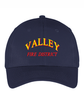 Load image into Gallery viewer, Valley Fire District Text Twill Cap
