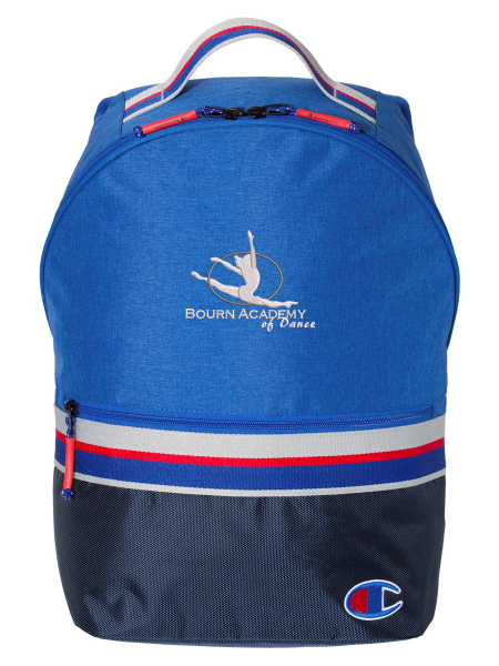 Bourn Academy Striped Backpack