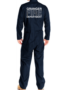 Granger Long Sleeve Twill Action Back Coveralls