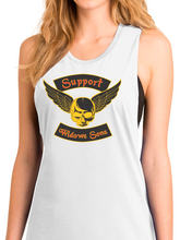 Load image into Gallery viewer, Women's Flying Skull Festival Tank Top