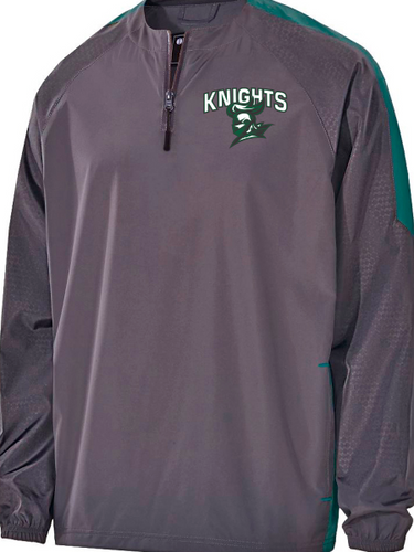Knights Custom Number Quarter Zip Pullover