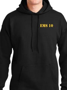 Columbus Fire - Eagle Banner Unisex Pullover Hoodie ES/EMS