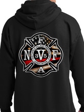 Load image into Gallery viewer, NVFFA - Flag Unisex Pullover Hoodie