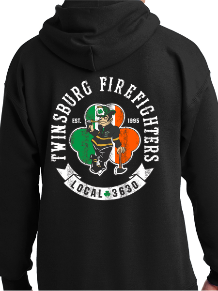 Twinsburg Fire / Union St. Patrick's Day Unisex Pullover Hoodie