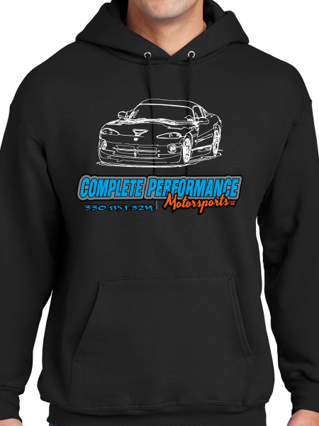 Complete Performance Sketch #3 Pullover Hoodie