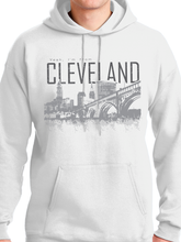 Load image into Gallery viewer, Yeah I'm From Cleveland Unisex Pullover Hoodie