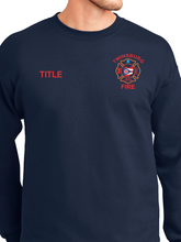 Load image into Gallery viewer, Twinsburg Fire Duty Ultimate Cotton Crewneck Sweatshirt