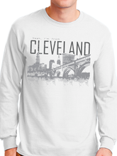 Load image into Gallery viewer, Yeah I'm From Cleveland Long Sleeve Unisex T Shirt