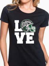 Load image into Gallery viewer, Love Nordonia Football Women's T Shirt