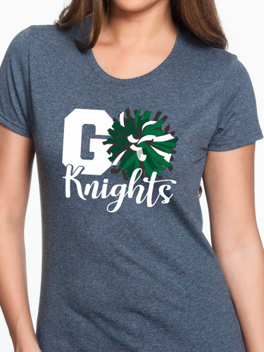 Go Knights Pom Pom Women's T Shirt