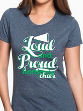 Load image into Gallery viewer, Loud & Proud Nordonia Cheer Women's T Shirt