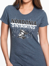 Load image into Gallery viewer, Nordonia Swimming Women's T Shirt