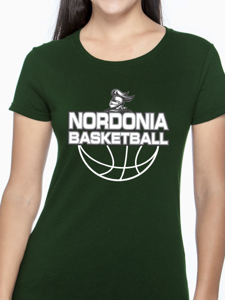 Nordonia Knights Basketball Women's T Shirt