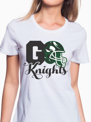 Go Knights Football Women's T Shirt