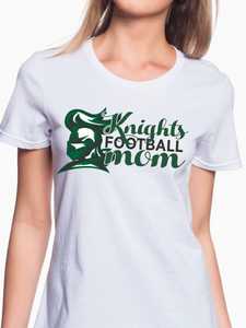Knights Football Mom Women's T Shirt