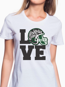Love Nordonia Football Women's T Shirt