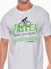Load image into Gallery viewer, Bike Faster Than You Were Yesterday Unisex T Shirt