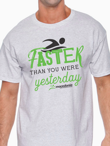 Swim Faster Than You Were Yesterday Unisex T Shirt