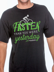 Bike Faster Than You Were Yesterday Unisex T Shirt