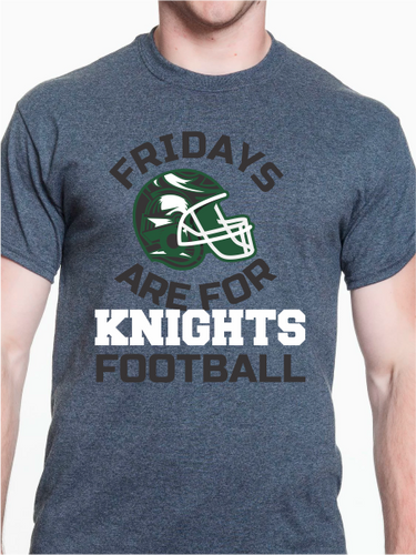 Fridays Are For Knights Football Unisex T Shirt