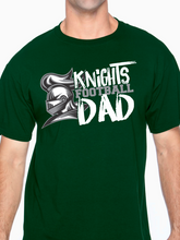 Load image into Gallery viewer, Knights Football Dad Unisex T Shirt