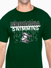 Load image into Gallery viewer, Nordonia Swimming Unisex T Shirt