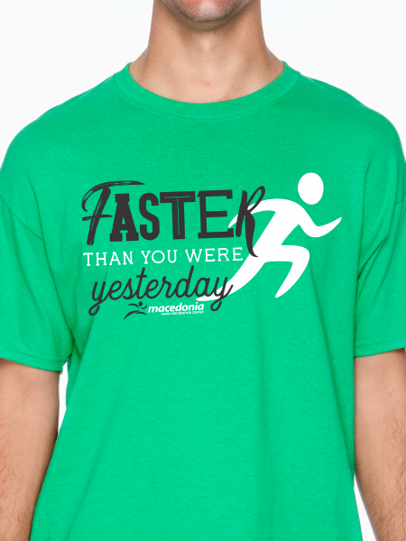 Run Faster Than You Were Yesterday Unisex T Shirt