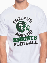Load image into Gallery viewer, Fridays Are For Knights Football Unisex T Shirt