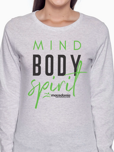 Mind, Body, Spirit Women's Long Sleeve T Shirt