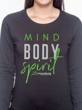 Load image into Gallery viewer, Mind, Body, Spirit Women's Long Sleeve T Shirt