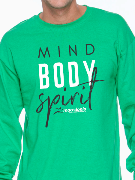 Mind, Body, Spirit Unisex Long Sleeve T Shirt