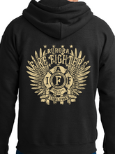 Load image into Gallery viewer, Aurora Fire Union / Wings Unisex Hooded Sweatshirt