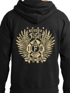Aurora Fire Union / Wings Unisex Hooded Sweatshirt