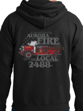 Load image into Gallery viewer, Aurora Fire Union / Retro Truck Unisex Hooded Sweatshirt