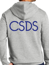 Load image into Gallery viewer, CSDS 1988 Stamp Adult Heavyweight Hooded Sweatshirt