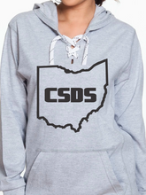 Load image into Gallery viewer, CSDS Sport Lace Jersey Hoodie