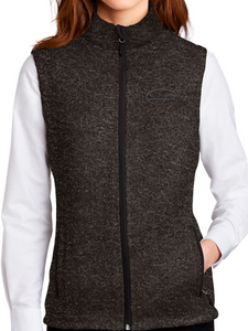 VMS Ladies Sweater Fleece Vest