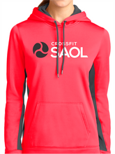Load image into Gallery viewer, CrossFit SAOL Women's Colorblock Hooded Pullover