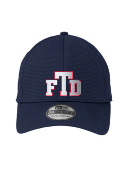 TFD Initials New Era Tech Mesh Cap