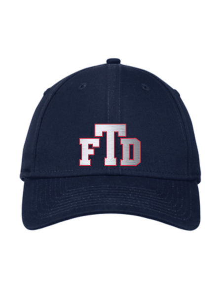 TFD Initials New Era Adjustable Structured Cap
