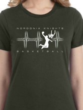Load image into Gallery viewer, Knights Basketball Beat Women's T Shirt