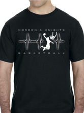 Load image into Gallery viewer, Knights Basketball Beat Unisex T Shirt
