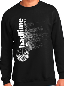 Badlime Ink Brush Tall Essential Crewneck Sweatshirt