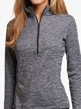 Load image into Gallery viewer, Women's Striated Quarter-Zip Pullover
