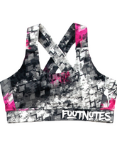 Load image into Gallery viewer, Footnotes Criss Cross Sports Bra