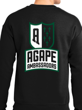 Load image into Gallery viewer, Agape Ambassadors Unisex Crew Neck Sweatshirt