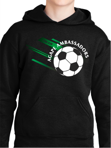 Agape Ambassadors Soccer Youth Pullover Hoodie