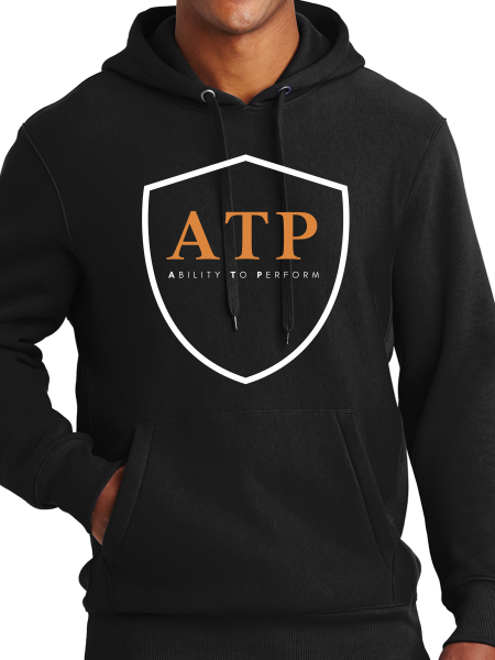 ATP Unisex Midweight Hooded Pullover Sweatshirt
