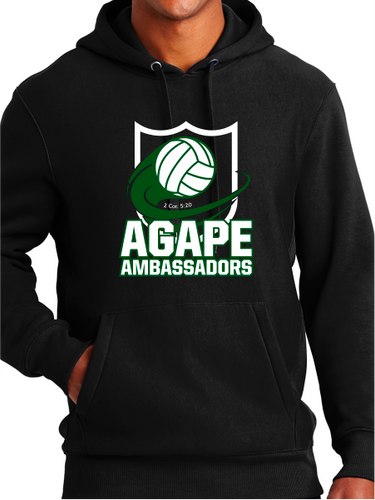 Agape Ambassadors Volleyball Unisex Pullover Hoodie