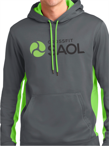 CrossFit SAOL Unisex Colorblock Hooded Pullover